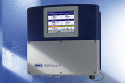 JUMO AQUIS touch S - Innovative, modular multichannel measuring instrument for liquid analysis