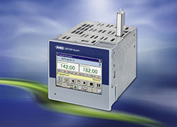 More than Just a Touch… - The JUMO DICON touch universal process controller with touchscreen simplifies the operation and control of processes.