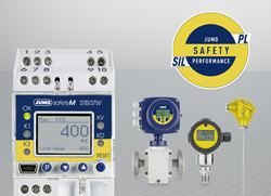 JUMO Safety Performance: Functional Safety – Hassle-Free!, Innovative SIL and PL compact solution for temperature