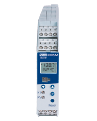 JUMO safetyM TB/TW - Temperature Limiter and Temperature Monitor According to DIN EN 14597