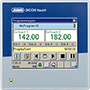 JUMO DICON touch – Two-Channel/Four-Channel Process and Program Controller with Paperless Recorder and Touchscreen (703571)
